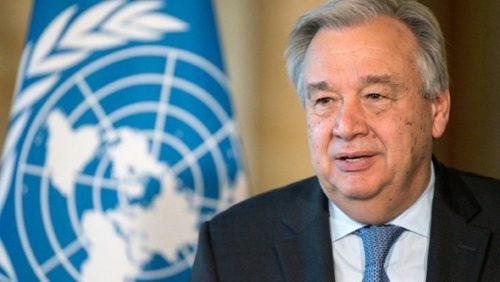 COVID-19: Έκκληση Αντόνιο Γκουτέρες, Γ.Γ. του ΟΗΕ για παγκόσμια ...