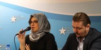 conférence de presse, Hatice Cengiz, Bruxelles