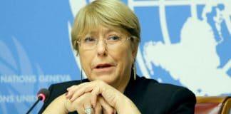 Michelle Bachelet, déclaration, Journée droits de l'homme, 2019, © ONU/Daniel Johnson
