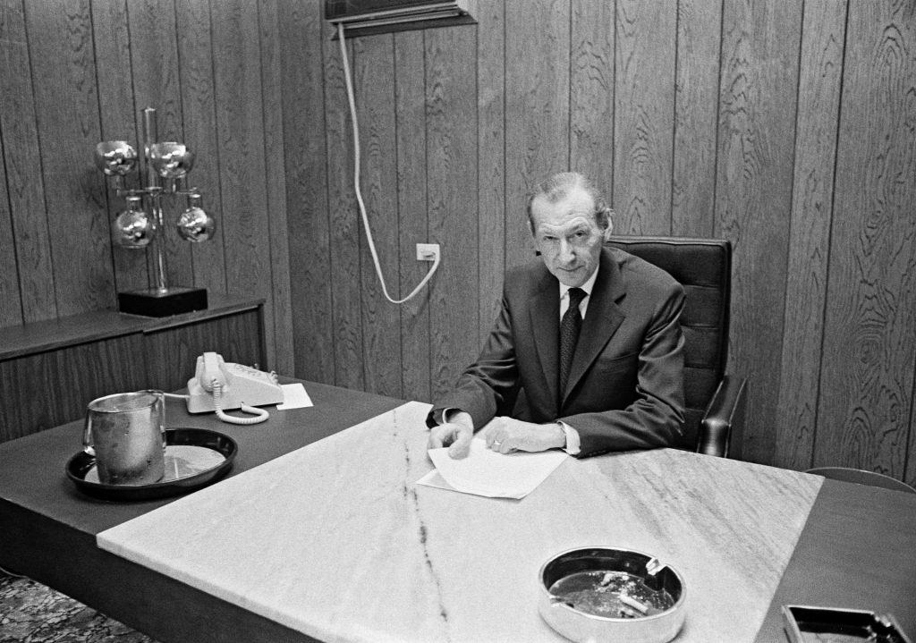 Former secretary general Kurt Waldheim